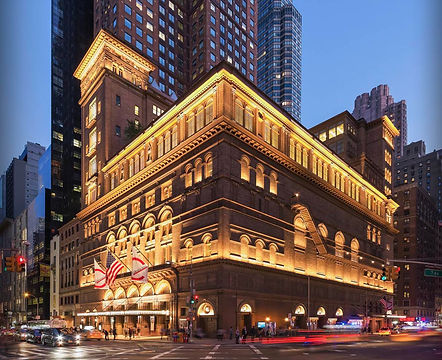 Carnegie Hall Manhattan Competiion