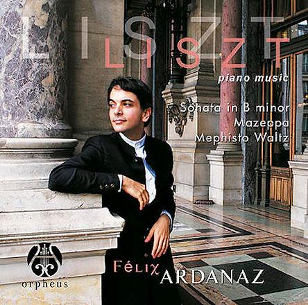 Félix Ardanaz Franz Liszt CD