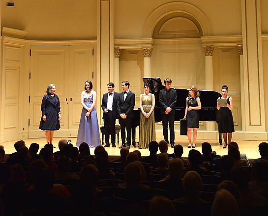 prize winners carnegie hall
