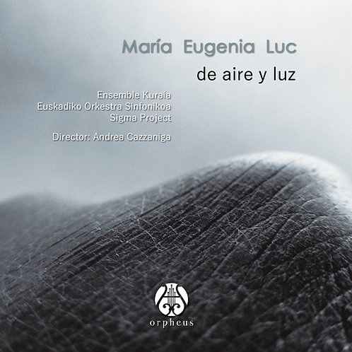 """""""De aire y luz"""", María Eugenia Luc"""