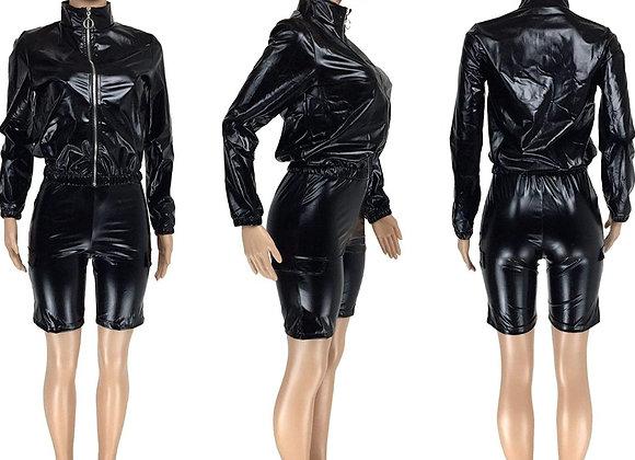 The Sama Faux Leather Set