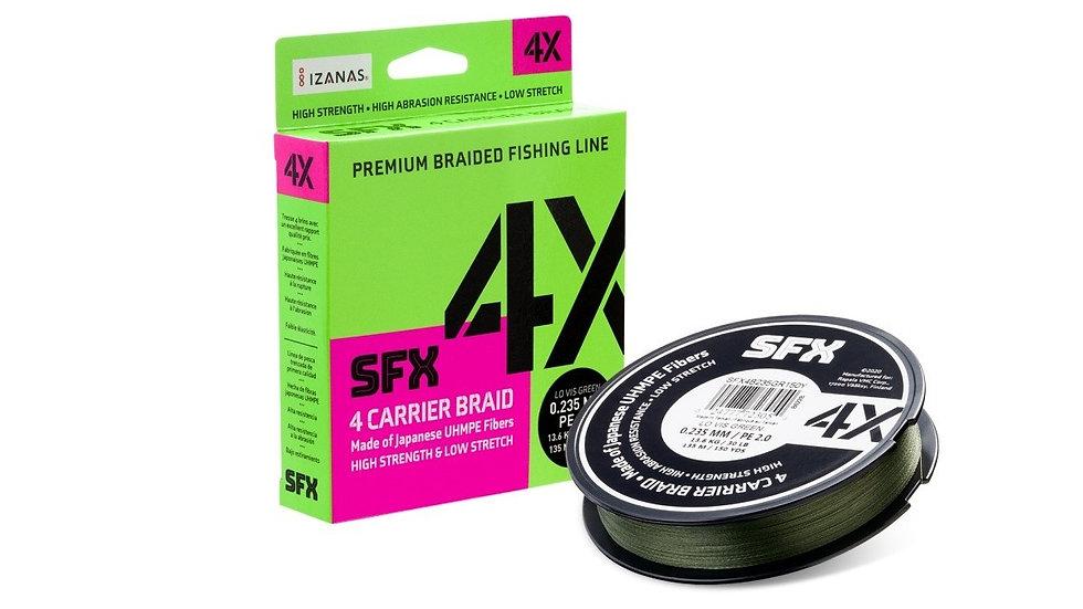 Sufix SFX 4X Braid - Lo-Vis Green - 135m