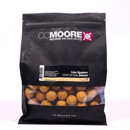 CC Moore 24mm Live System Boilies 1kg