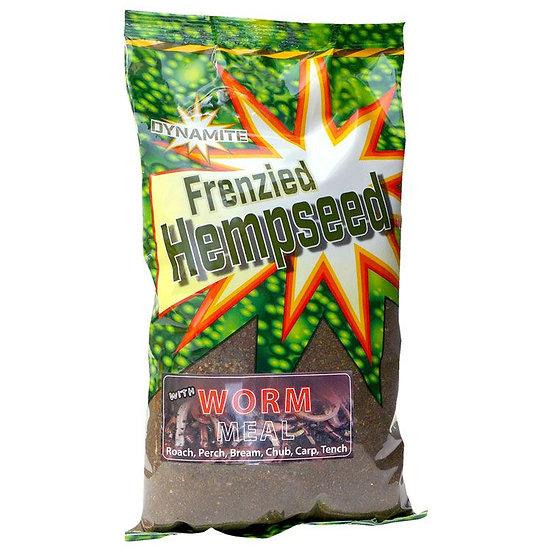 Dynamite Dark Worm Frenzied Hempseed Groundbait - 1kg