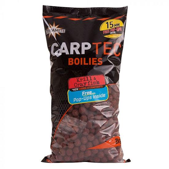 Dynamite 15mm Krill & Crayfish CarpTec Boilies - 2kg