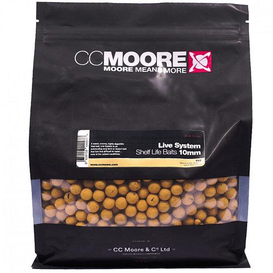 CC Moore 10mm Live System Boilies 1kg