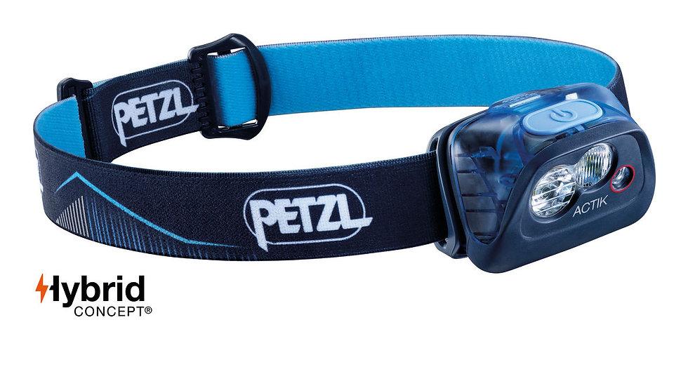 Petzl Actik Blue Head Torch - 350 Lumens