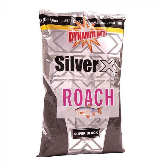 Dynamite Silver X Super Black Roach Groundbait - 1kg