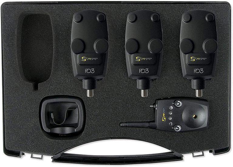 Carp Spirit HD3 3+1 Bite Alarm & Receiver Set