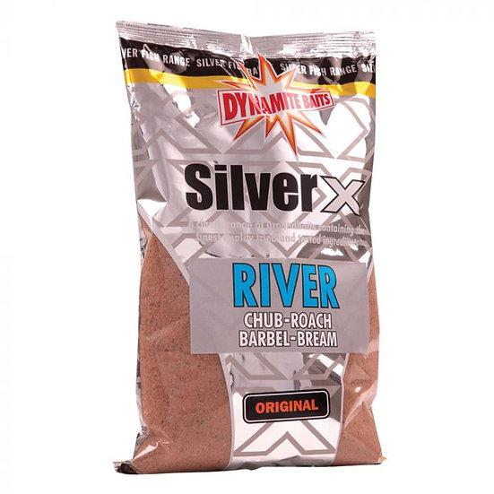 Dynamite Silver X River Mix Groundbait - 1kg