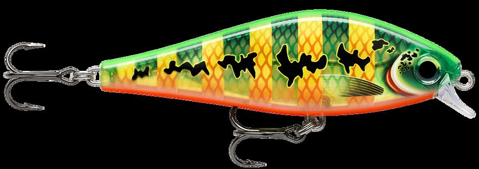 Rapala Super Shadow Rap - Peacock - 11cm 38g