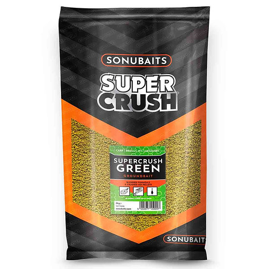 Sonubaits Supercrush Green Groundbait - 2kg