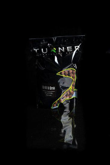Turner Krill&crab Boilies - 1kg