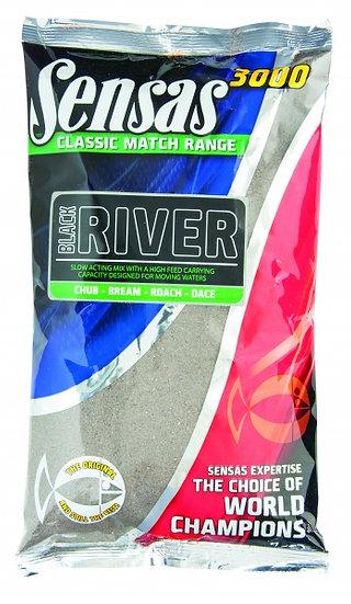 Sensas 3000 Classic Match River Black - 1kg
