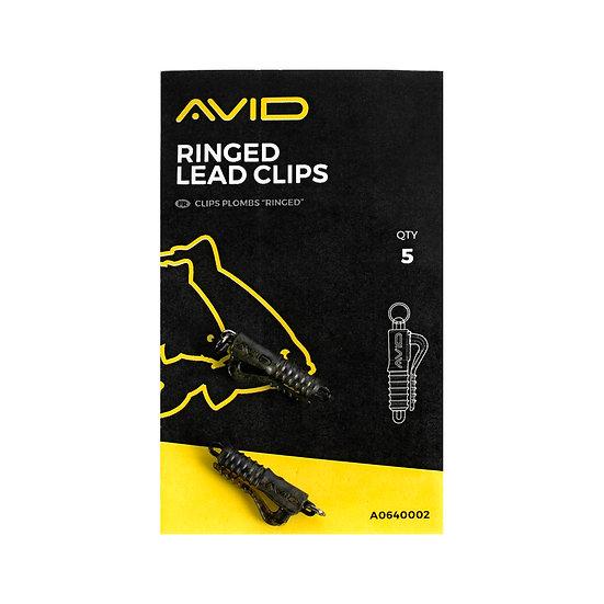 Avid Ringed Lead Clips