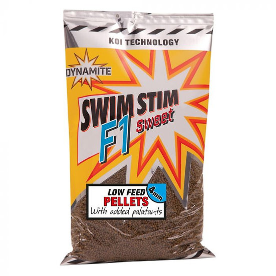 Dynamite 4mm F1 Sweet Pellets - 900g