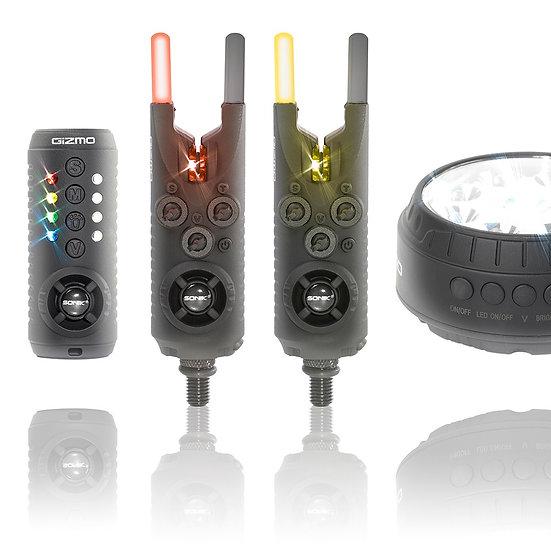 Sonik Gizmo 2+1 Bite Alarm and Receiver Set