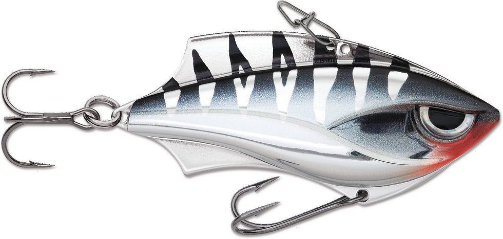 Rapala Rap V Blade - Chrome Tiger - 6cm 14g