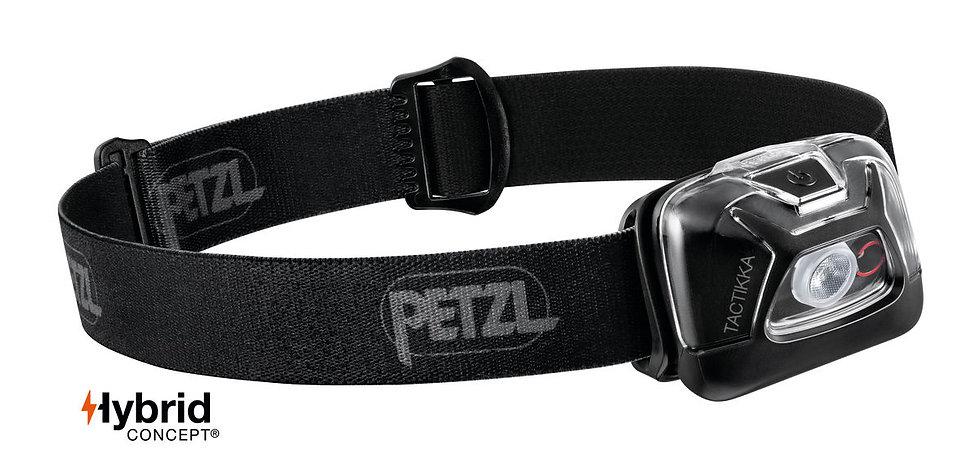 Petzl Tactikka Black Head Torch - 300 Lumens