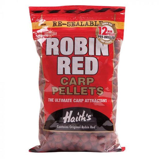 Dynamite 12mm Robin Red Pre Drilled Pellets - 900g