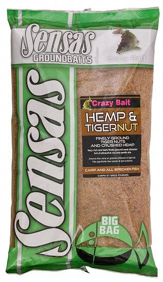 Sensas Big Bag Hemp & Tigernut - 2kg