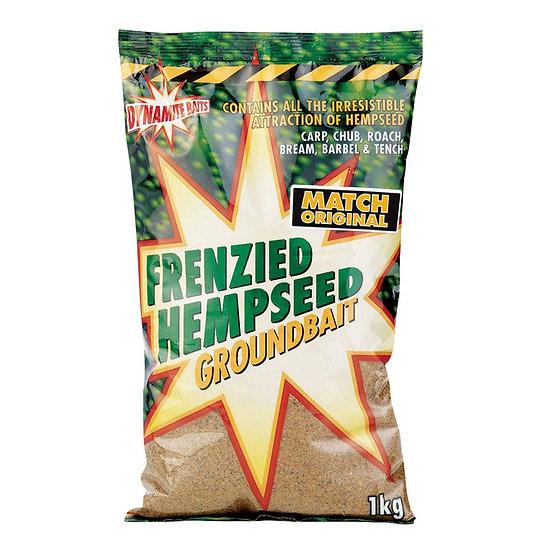 Dynamite Match Original Frenzied Hempseed Groundbait - 1kg