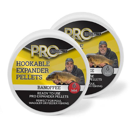 Sonubaits Pro Hookable Expander Pellets - Banoffee