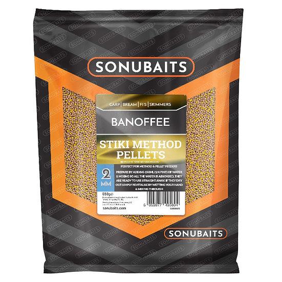 Sonubaits Stiki Method Pellets - Banoffee - 650g