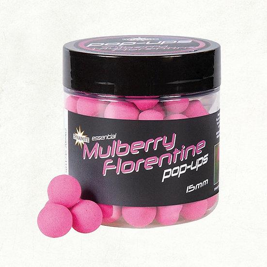 Dynamite Mulberry Florentine Fluro Pop-Ups - 15mm
