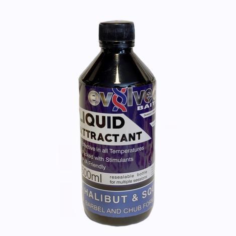 Evolved Halibut & Squid - Barbel And Chub Formula
