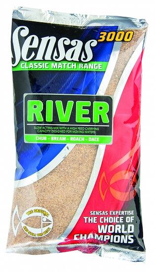Sensas 3000 Classic Match River - 1kg