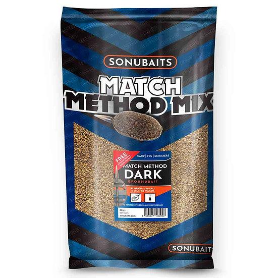 Sonubaits Match Method Dark Groundbait - 2kg