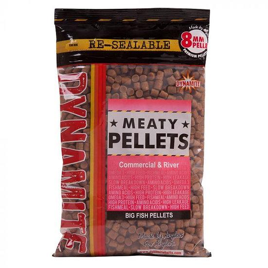 Dynamite 8mm Meaty Pellets - 900g