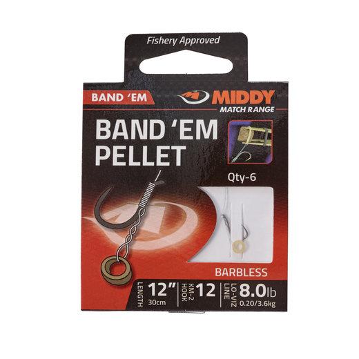 """Middy Band 'Em Pellet Hooks-To-Nylon 12"""""""