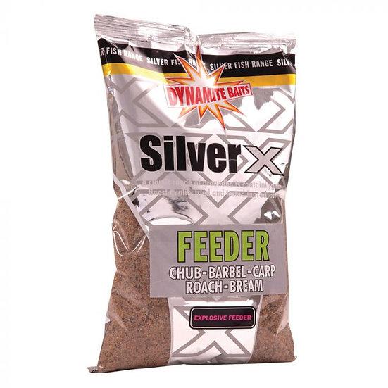 Dynamite Silver X Explosive Feeder Mix Groundbait - 1kg