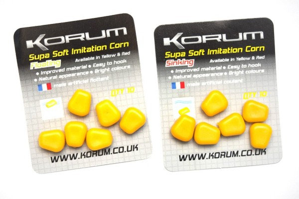 Korum Supa Soft Imitation Corn