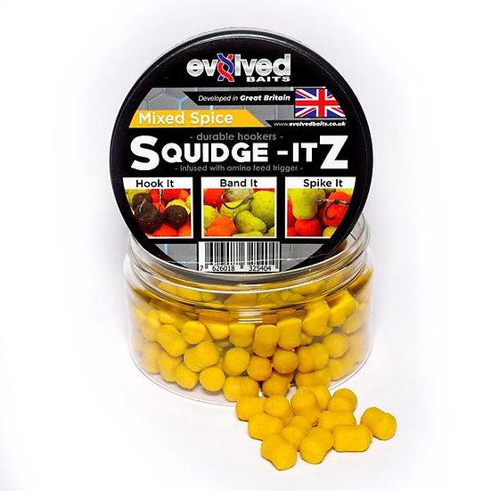 Evolved Baits Squidge Itz - Mixed Spice 8x10mm