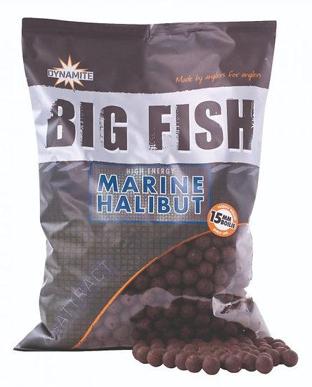 Dynamite Big Fish 15mm Marine Halibut Boilies - 1.8kg