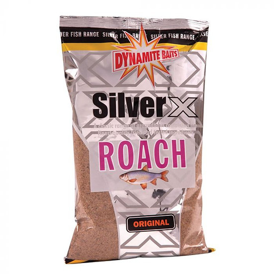 Dynamite Silver X Original Roach Groundbait - 1kg