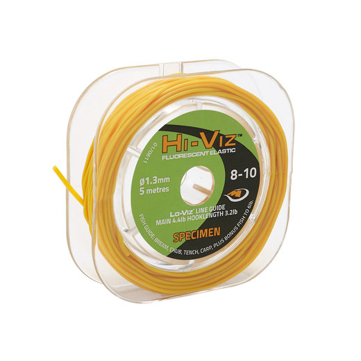 Middy Hi-Viz Original Solid Elastic: 8-10 Specimen (Yellow)