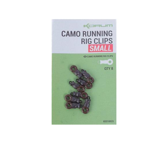Korum Camo Running Rig Clips