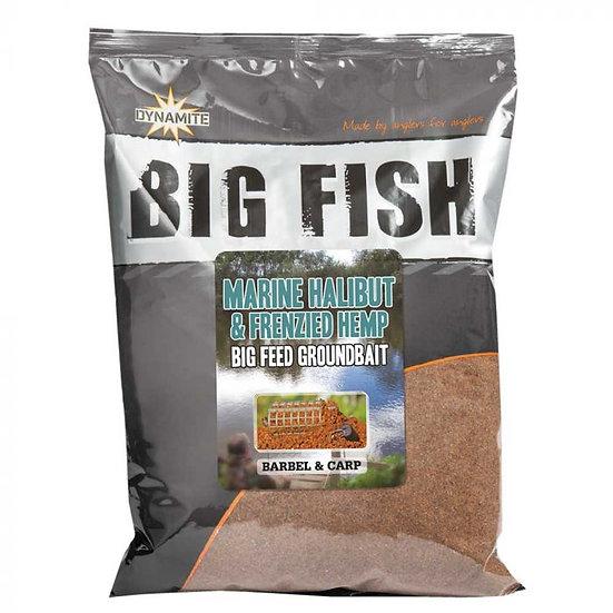 Dynamite Marine Halibut & Hemp Big Fish Groundbait - 1.8kg