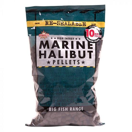 Dynamite 10mm Marine Halibut Pellets - 900g