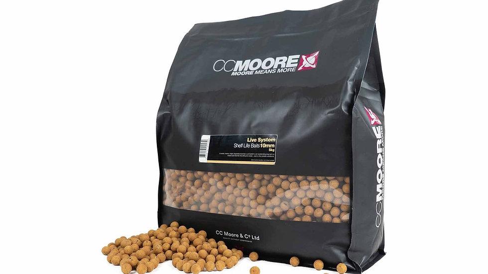 CC Moore Live System Boilies 5kg