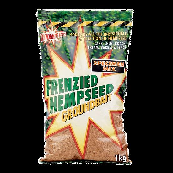 Dynamite Coarse Specimen Mix Frenzied Hempseed Groundbait - 1kg