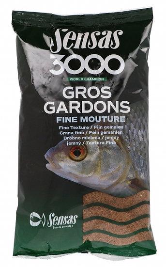 Sensas 3000 Gros Gardons Fine Texture - 1kg