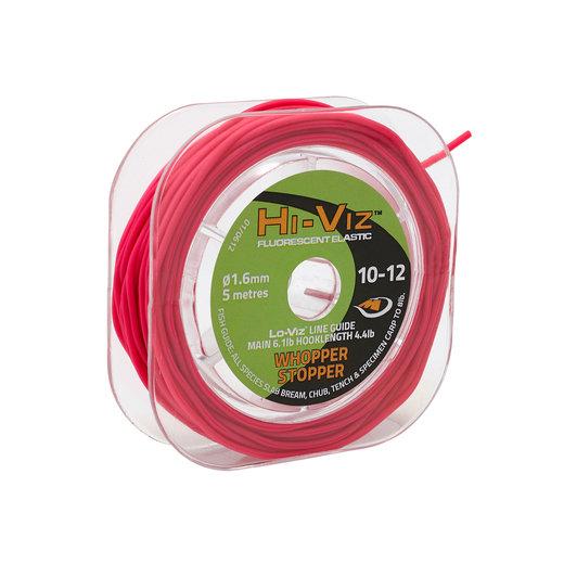 Middy Hi-Viz Original Solid Elastic: 10-12 Whopper (Pink)