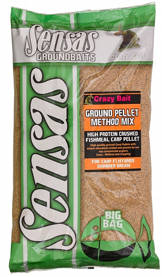 Sensas Big Bag Ground Pellet Method Mix - 2kg