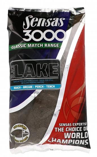 Sensas 3000 Classic Match Black Lake - 1kg