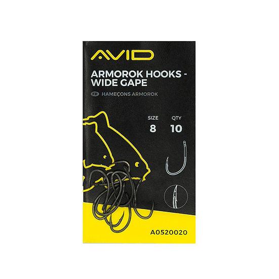 Avid Armorok Hooks - Wide Gape